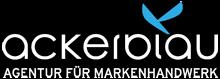 ackerblau   Agentur für Markenhandwerk